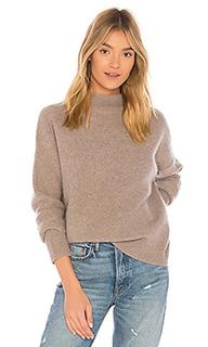Пуловер с воротником-стойкой - Vince