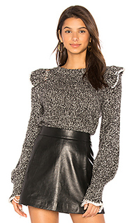 Топ gathered sleeve - Wildfox Couture