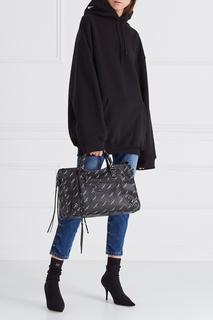 Кожаная сумка Balenciaga
