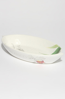 "Блюдо ""Орхидеи"" Ceramiche Viva"