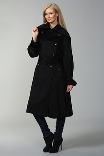 Пальто с поясом Alexander McQueen