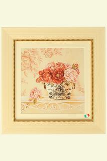 """Постер """"Чайные розы в вазе"""" F.A.L"""