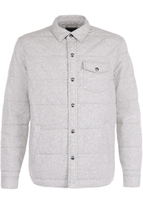 Утепленная хлопковая куртка на кнопках Polo Ralph Lauren