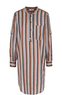 Хлопковое платье-рубашка в полоску Isabel Marant Etoile
