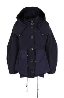 Укороченная куртка свободного кроя с капюшоном Kenzo