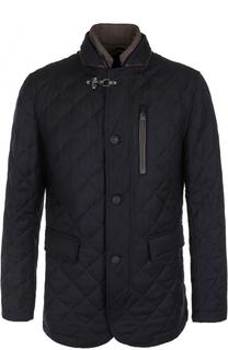 Шерстяная куртка на молнии с подстежкой Windsor