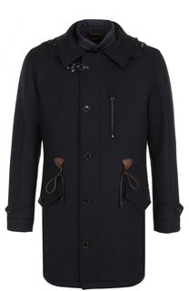Пальто из смеси шерсти и кашемира с подстежкой Windsor