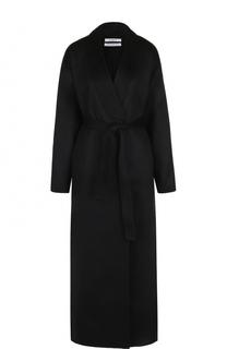 Кашемировое пальто-макси с поясом Givenchy