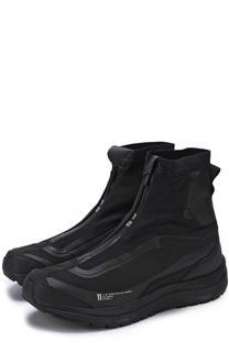 Высокие текстильные кроссовки без шнуровки 11 by Boris Bidjan Saberi