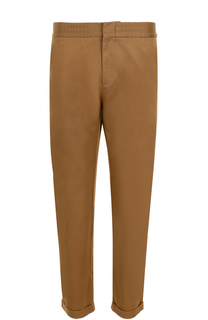Хлопковые брюки прямого кроя MSGM