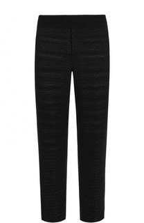 Шерстяные брюки прямого кроя с поясом на резинке Missoni
