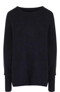 Удлиненный вязаный пуловер с круглым вырезом Isabel Marant Etoile