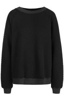 Стеганый хлопковый пуловер Wildfox