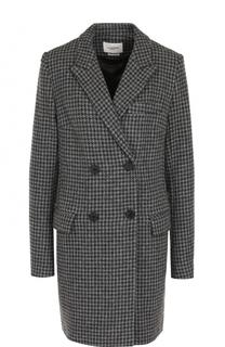 Двубортное шерстяное пальто прямого кроя Isabel Marant Etoile