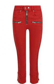 Укороченные однотонные джинсы-скинни Isabel Marant Etoile