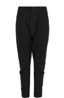 Шерстяные брюки с заниженной линией шагового шва Y-3