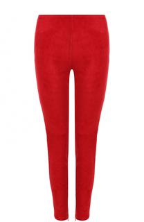 Замшевые брюки-скинни Dolce & Gabbana