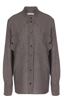 Однотонная блуза свободного кроя Isabel Marant Etoile