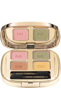 Тени для век Quad, оттенок 180 Summer Dance Dolce & Gabbana