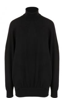 Шерстяной свитер свободного кроя Balenciaga