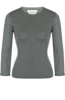 Пуловер из смеси кашемира и шелка с укороченным рукавом REDVALENTINO