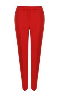 Шерстяные брюки со стрелками Oscar de la Renta