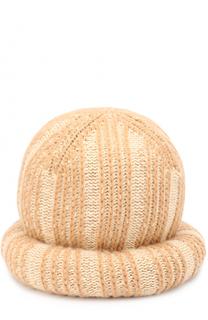 Вязаная шапка из шерсти и кашемира Marc Jacobs