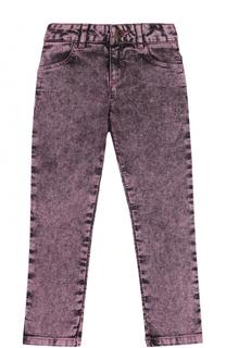 Джинсы прямого кроя с декоративными потертостями Marc Jacobs