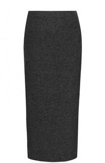 Юбка-карандаш из смеси шерсти и кашемира Polo Ralph Lauren