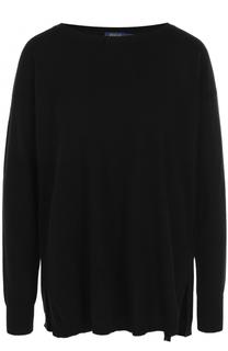 Кашемировый пуловер с вырезом-лодочка Polo Ralph Lauren