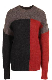 Вязаный пуловер с круглым вырезом Isabel Marant Etoile