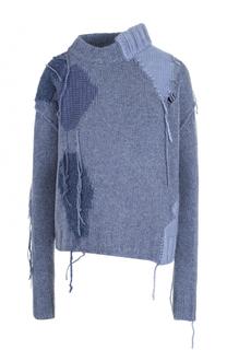 Шерстяной свитер асимметричного кроя Acne Studios