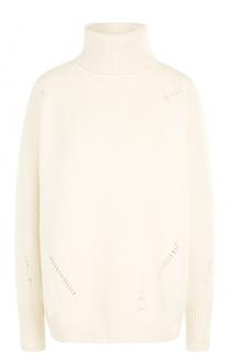 Шерстяной свитер свободного кроя MICHAEL Michael Kors