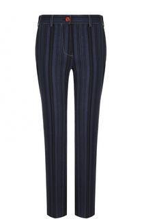 Шерстяные брюки прямого кроя в полоску Acne Studios