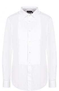 Приталенная хлопковая блуза Polo Ralph Lauren