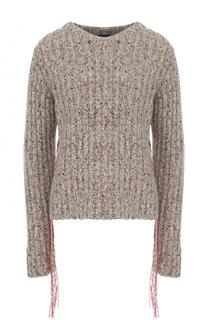Кашемировый пуловер фактурной вязки The Row