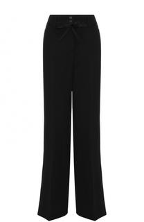 Расклешенные шерстяные брюки с поясом Ann Demeulemeester