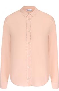 Шелковая блуза прямого кроя REDVALENTINO
