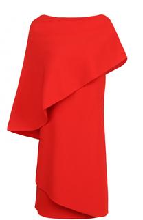 Однотонное приталенное мини-платье Givenchy