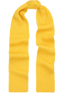 Шерстяной шарф фактурной вязки Neil Barrett