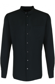 Сорочка из смеси вискозы и шелка Giorgio Armani