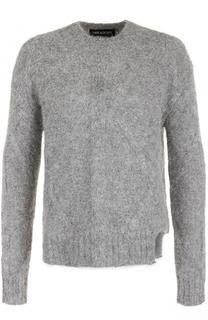 Шерстяной свитер фактурной вязки Neil Barrett