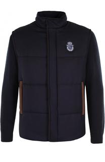 Утепленная кашемировая куртка на молнии с воротником-стойкой Billionaire