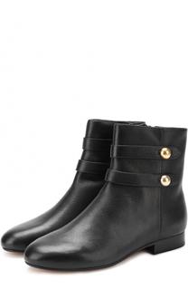 Кожаные ботинки Maisie с ремешками MICHAEL Michael Kors