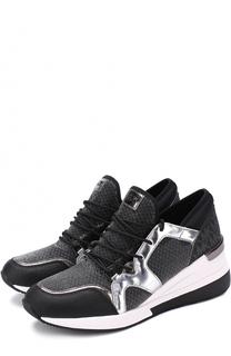 Комбинированные кроссовки Scout на шнуровке MICHAEL Michael Kors