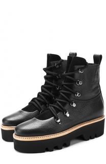 Кожаные ботинки Lago на шнуровке Walter Steiger