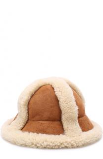 Шляпа с отделкой из овчины Acne Studios