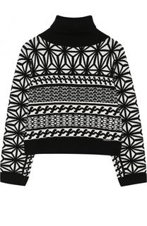 Вязаный свитеры с принтом Dsquared2