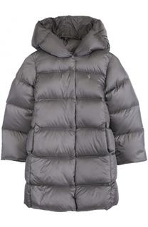 Пуховое пальто с капюшоном Polo Ralph Lauren