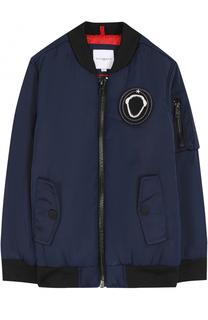 Бомбер с накладным карманом и нашивкой Givenchy